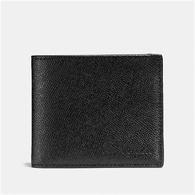 Fashion 4 Coach 3-IN-1 WALLET IN CROSSGRAIN LEATHER
