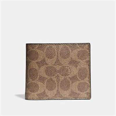 Fashion 4 Coach 3-IN-1 WALLET IN SIGNATURE CANVAS