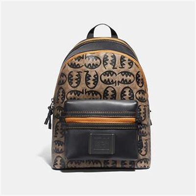 Fashion 4 Coach ACADEMY BACKPACK IN SIGNATURE CANVAS WITH REXY BY GUANG YU