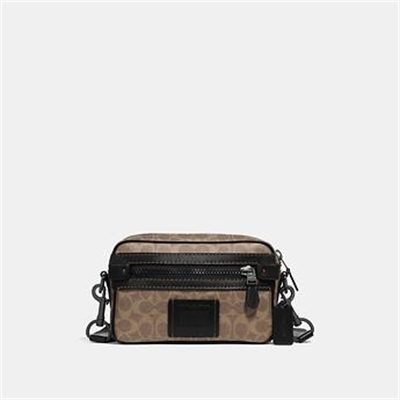 Fashion 4 Coach ACADEMY CROSSBODY IN SIGNATURE CANVAS