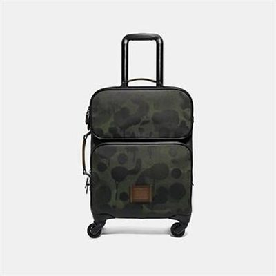 Fashion 4 Coach ACADEMY TRAVEL WHEELED CARRY ON WITH WILD BEAST PRINT