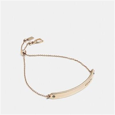 Fashion 4 Coach BAR SLIDER BRACELET
