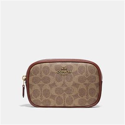 Fashion 4 Coach BELT BAG IN COLORBLOCK SIGNATURE CANVAS