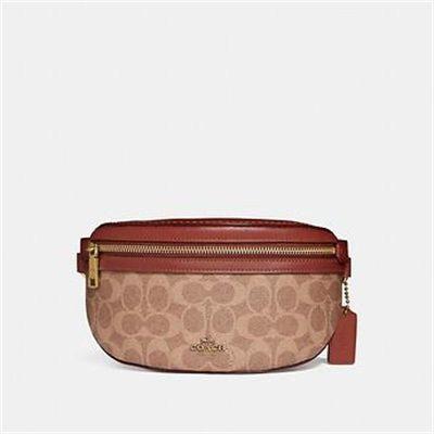 Fashion 4 Coach BELT BAG IN SIGNATURE CANVAS
