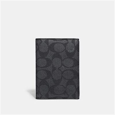Fashion 4 Coach BIFOLD CARD CASE IN SIGNATURE CANVAS
