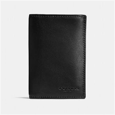 Fashion 4 Coach BIFOLD CARD CASE IN SPORT CALF LEATHER