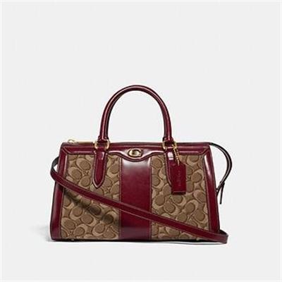Fashion 4 Coach BOND BAG IN SIGNATURE JACQUARD