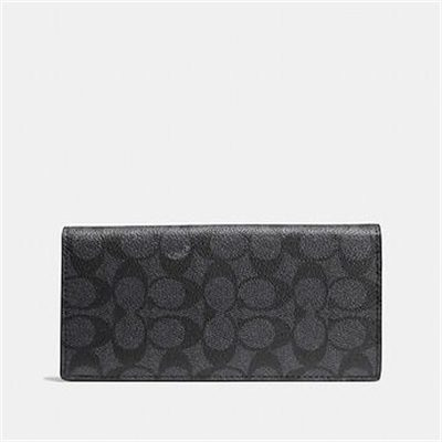 Fashion 4 Coach BREAST POCKET WALLET IN SIGNATURE CANVAS