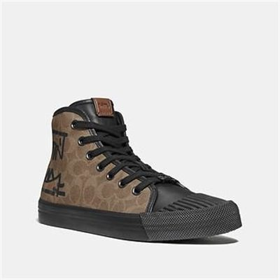Fashion 4 Coach C211 HIGH TOP WITH REXY BY GUANG YU