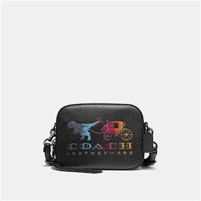 Fashion 4 Coach CAMERA BAG WITH REXY AND CARRIAGE