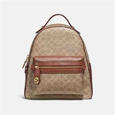 Fashion 4 Coach CAMPUS BACKPACK IN SIGNATURE CANVAS