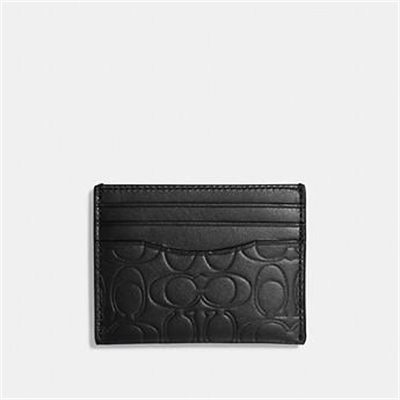 Fashion 4 Coach CARD CASE IN SIGNATURE LEATHER