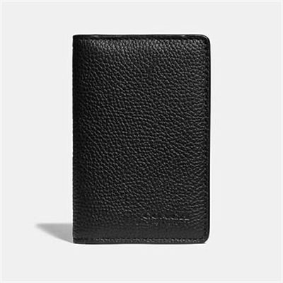 Fashion 4 Coach CARD WALLET WITH SIGNATURE CANVAS BLOCKING