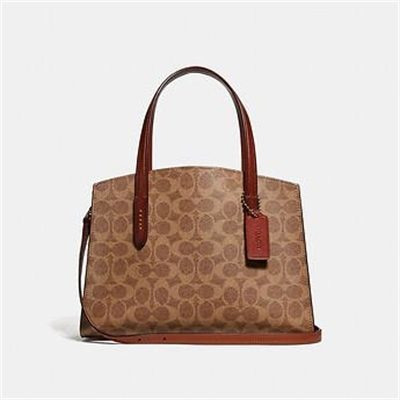 Fashion 4 Coach CHARLIE CARRYALL 28 IN SIGNATURE CANVAS