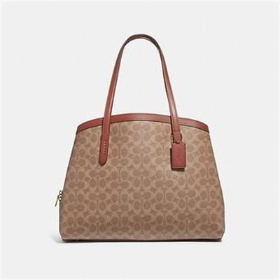 Fashion 4 Coach CHARLIE CARRYALL 40 IN SIGNATURE CANVAS
