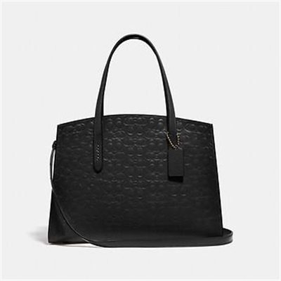 Fashion 4 Coach CHARLIE CARRYALL IN SIGNATURE LEATHER
