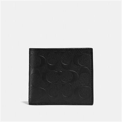Fashion 4 Coach COIN WALLET IN SIGNATURE LEATHER