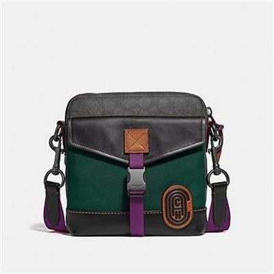 Fashion 4 Coach CROSSBODY IN SIGNATURE CANVAS WITH COACH PATCH