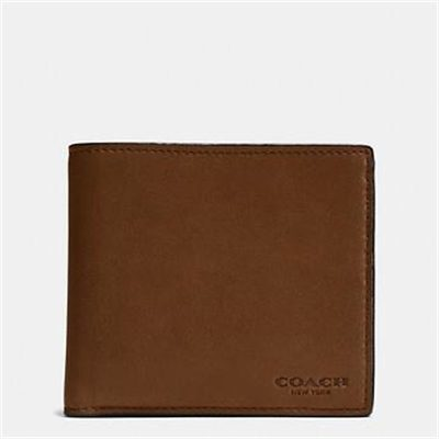Fashion 4 Coach Coin Wallet In Leather