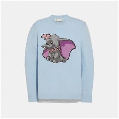 Fashion 4 Coach DISNEY X COACH DUMBO INTARSIA SWEATER