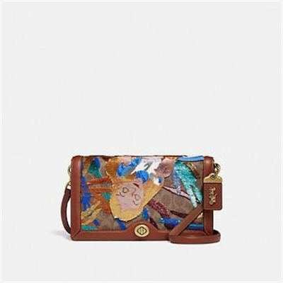 Fashion 4 Coach DISNEY X COACH SIGNATURE RILEY WITH EMBELLISHED ALICE