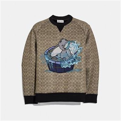 Fashion 4 Coach DISNEY X COACH SIGNATURE SWEATSHIRT WITH DUMBO