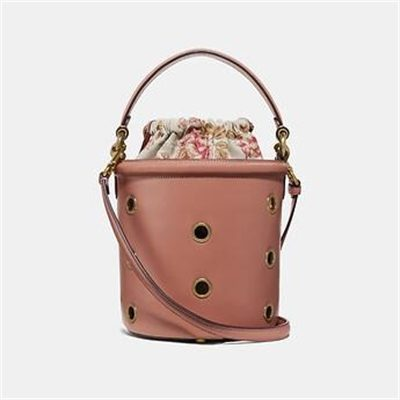Fashion 4 Coach DRAWSTRING BUCKET BAG WITH GROMMETS