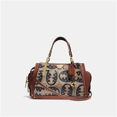 Fashion 4 Coach DREAMER 21 IN SIGNATURE CANVAS WITH REXY BY GUANG YU