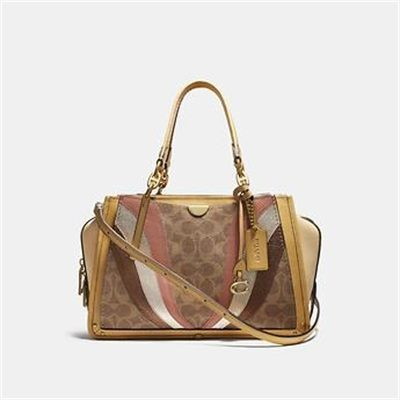 Fashion 4 Coach DREAMER IN SIGNATURE CANVAS WITH WAVE PATCHWORK