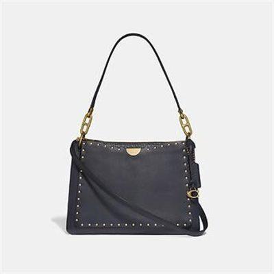 Fashion 4 Coach DREAMER SHOULDER BAG WITH RIVETS