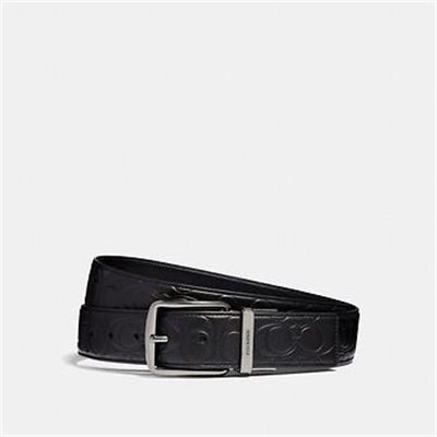 Fashion 4 Coach HARNESS CUT-TO-SIZE REVERSIBLE SIGNATURE LEATHER BELT