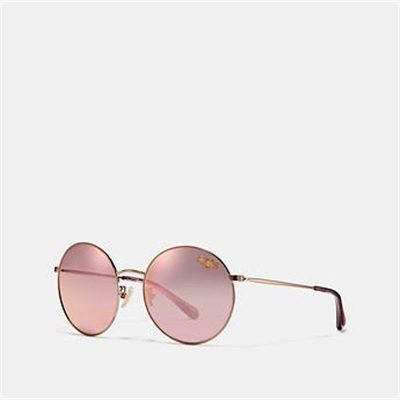 Fashion 4 Coach HORSE AND CARRIAGE ROUND SUNGLASSES