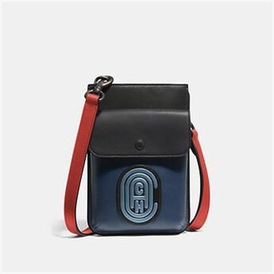 Fashion 4 Coach HYBRID POUCH IN COLORBLOCK WITH COACH PATCH