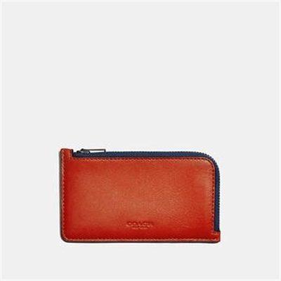 Fashion 4 Coach L-ZIP CARD CASE IN COLORBLOCK