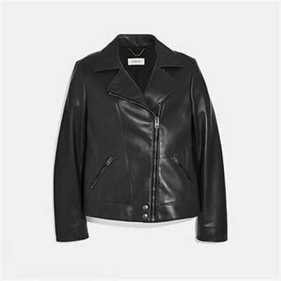 Fashion 4 Coach LEATHER MOTO JACKET