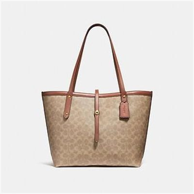 Fashion 4 Coach MARKET TOTE IN SIGNATURE CANVAS