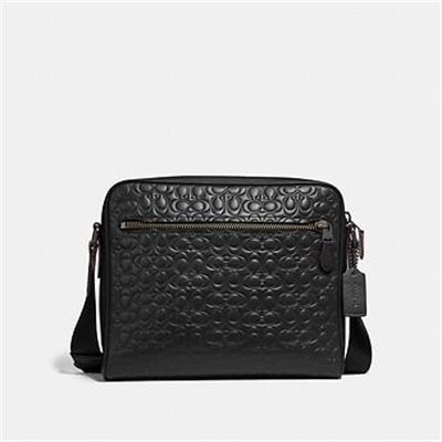 Fashion 4 Coach METROPOLITAN CAMERA BAG IN SIGNATURE LEATHER