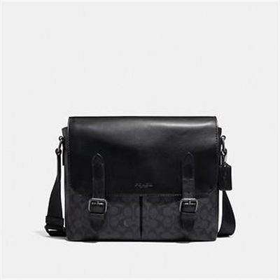 Fashion 4 Coach METROPOLITAN SOFT MESSENGER IN SIGNATURE CANVAS