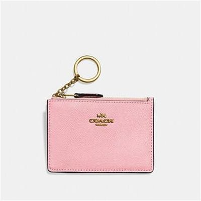 Fashion 4 Coach MINI SKINNY ID CASE IN CROSSGRAIN LEATHER