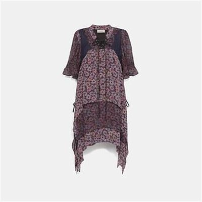 Fashion 4 Coach MINI TIERED DRESS WITH LACING