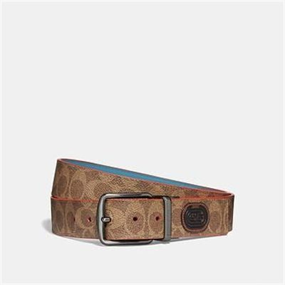 Fashion 4 Coach MODERN ACTIVE CUT-TO-SIZE REVERSIBLE BELT IN SIGNATURE CANVAS