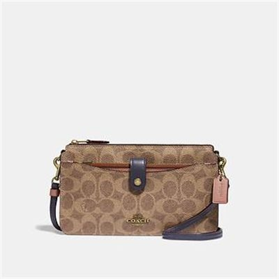 Fashion 4 Coach NOA POP-UP MESSENGER IN COLORBLOCK SIGNATURE CANVAS
