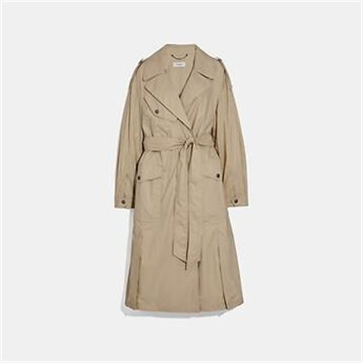 Fashion 4 Coach OVERSIZED TRENCH