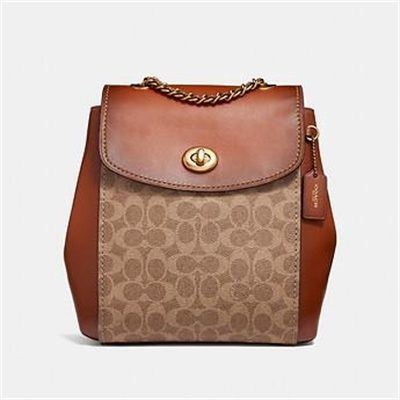 Fashion 4 Coach PARKER BACKPACK IN SIGNATURE CANVAS