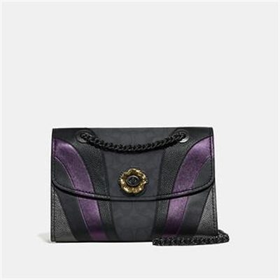 Fashion 4 Coach PARKER IN SIGNATURE CANVAS WITH WAVE PATCHWORK