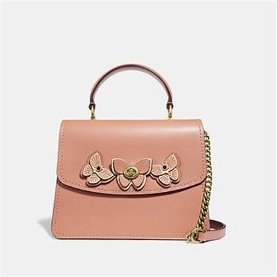 Fashion 4 Coach PARKER TOP HANDLE WITH BUTTERFLY APPLIQUE