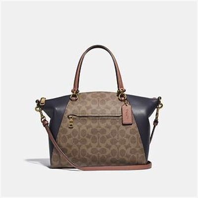 Fashion 4 Coach PRAIRIE SATCHEL IN COLORBLOCK SIGNATURE CANVAS