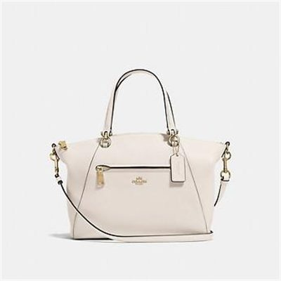 Fashion 4 Coach PRAIRIE SATCHEL IN POLISHED PEBBLE LEATHER