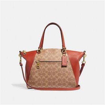 Fashion 4 Coach PRAIRIE SATCHEL IN SIGNATURE CANVAS