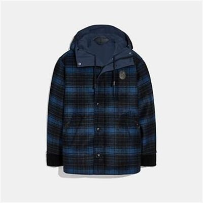 Fashion 4 Coach REVERSIBLE PLAID JACKET